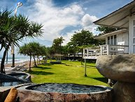 Beachfront, 6 Bedroom villa, Feature Gardens, Car + Driver, Pure Luxury, Canggu