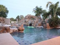 Mesa Family Fun Waterslide Estate - pool, theater