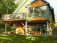 Special Rates  August 26 - Fabulous Waterfront Post and Beam near Acadia