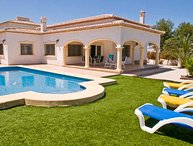 Villa La Guardia, Javea, large pool, a/c, Freesat