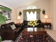 Luxury Holiday Villa, Water View, Theme Rooms, Emerald Island, 3 Miles to Disney