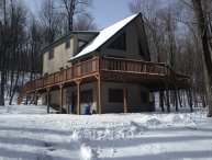 Poconos Chalet, Lots Of Decks/Outdoor Jacuzzi