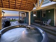Stairs to the Sea Oceanfront  Hot Tub