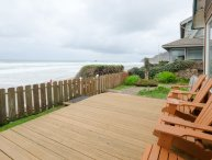 Shoreline Chateau-Oceanfront Home Beach Stairs Open 5/15-18