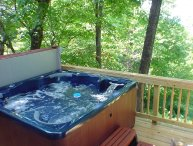 Six Person Hot Tub On A