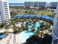 AUGUST 20 - FALL OPEN - 12TH FLOOR POOL SIDE CONDO W/GREAT VIEWS OF POOL & GULF