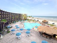 Summer Special - Hawaiian Inn 425 - Oceanfront Condo W/ Tiki Bar