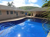 Portlock Poolhouse - w/ covered cabana, near beach