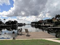4 Bedroom 2 Bath Bayfront, Pool, Gof, Canoe, More.