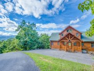 MILLION DOLLAR VIEW OF THE SMOKIES!  4/3 WITH THEATER AND FANTASTIC LOCATION!