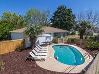 All inclusive $2450 July 22-29!! 4 bedroom private pool 2 blocks to beach
