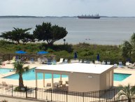 Poolside Fun at Tybee; 3rd Floor View!