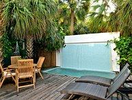 Bahama House - A++ Location with private pool/parking - walk to everything!