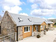 1 WEE-KALF, semi-detached barn conversion, pet-friendly, all ground floor, in