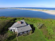 Nauset Waterfront Vacation Compound with Main House and Studio Cottage