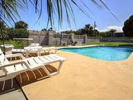 JULY/AUGUST $PECIALS - LUXURY POOL HOME - STEPS FROM THE OCEAN - 3BR/2BA - #2836