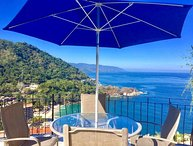VILLAS ALTAS MISMALOYA PH A4 SPECTACULAR BAY AND BEACH VIEW