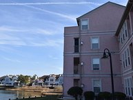 Water Views and Beach Access from this Ocean Pines Marina Condo