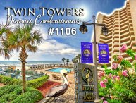 JULY/AUGUST $PECIALS - TWIN TOWERS  CONDOMINIUM - OCEANFRONT - 3BR/2BA - #1106