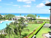 BEACHFRONT - EAGLE BEACH - OCEANIA RESORT - Turquoise View 2BR condo - BC353