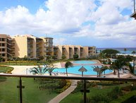 BEACHFRONT- EAGLE BEACH - OCEANIA RESORT - Bella Vista  2BR condo - BC356