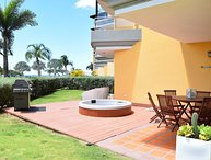 PROMO-BEACHFRONT- EAGLE BEACH - OCEANIA RESORT - Beach Garden 2BR condo - E124