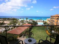 BEACHFRONT - EAGLE BEACH - OCEANIA RESORT - Top View 1BR condo - P514