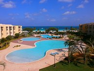 PROMO-BEACHFRONT- EAGLE BEACH - OCEANIA RESORT - Supreme View 2BR condo - A344