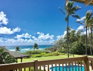 Kaha Lani Resort #311, Great Ocean and Sunrise Views, Steps to Sandy Beach