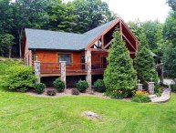 A Mountain Escape-5 BR, 3 1/2 BA Spacious & Beautiful Cabin with Pool Table, Fir