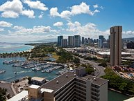 Waikiki Marina #3704 Panoramic Ocean View-Upgraded studio-Kitchenette-Wow! $145