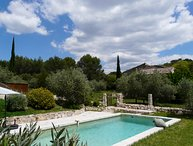 LS2-229 Baumo, Old Provencal Bastide with pool near Luberon
