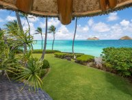Stunning Estate Owned by Paul Mitchell on Lanikai Beach on Oahu!