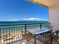 Makani Sands: Unit 301: Good for 6! Has a sandy beach in front!