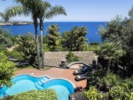 Villa Tecla vacation holiday large villa rental italy, sicily, acireale, near ca