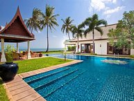 Villa 26 - 4 bedroom option luxury beachfront with chef service