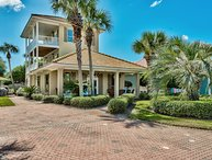 Palmetto Palms - 1st Beach Street! Walk to priv. beach, pavilion, pool & tennis!