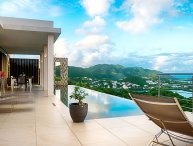 Villa Sunrise | Ocean View - Located in Tropical Orient Bay with Private Pool