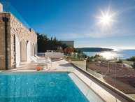 Panoramic sea view modern villa for rent Primosten