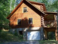 Skip's-Is a charming log cabin in the heart of the mountains * Vogel Park