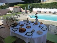 Holiday home in Salon-de-Provence, private pool, garden and terrace