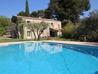Landhouse in Le Castellet, private pool,10 km from the Bandol beaches