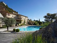The Last Castle - Architect's Stone Villa & Pool in The Picturesque of P-Baux