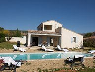 LS2-148 BROUSSO Luxurious vacation house with heated swimming pool