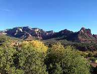Beautiful Uptown Home sits 'above' Scenic Sedona and takes full advantage of the