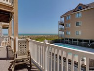 Sand Pebbles A9- Unwind and enjoy this oceanfront condo with easy beach access