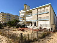 Direct Ocean Front Condo * Huge Balcony * 3 Large Bedrooms * 2 Full Baths *