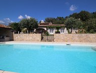Exceptional house in Montauroux, Var, heated pool, pets allowed