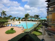 PROMO-BEACHFRONT- EAGLE BEACH - OCEANIA RESORT - Elegant View 3BR condo - E224