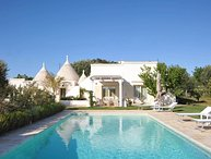 Luxury villa Trullo Sassaia